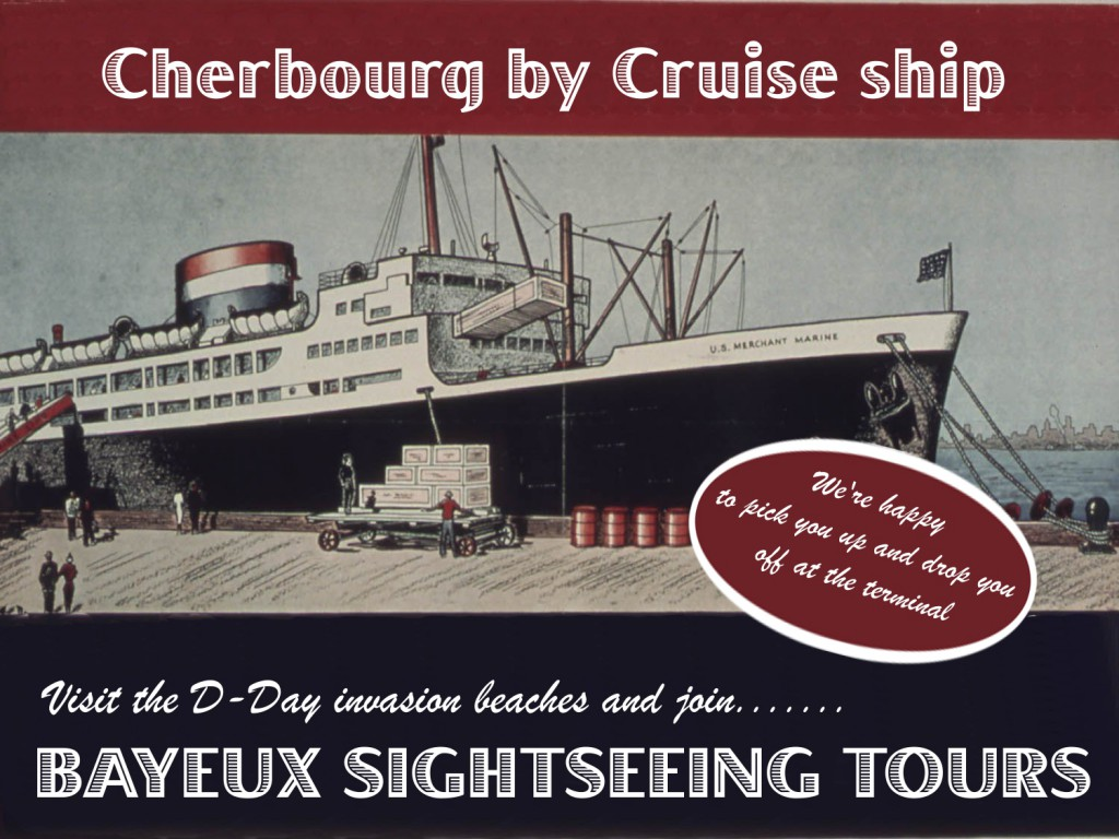 D-Day tours from your cruise ship terminal
