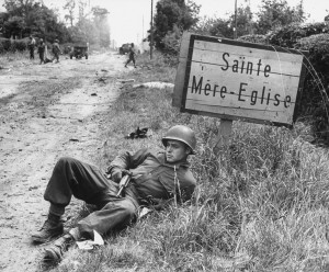D-Day tours in Normandy Sainte Mere Eglise 1944