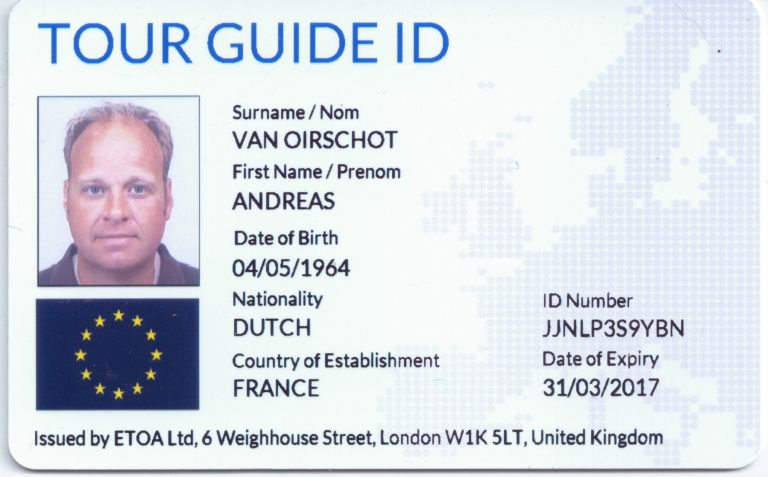 Certified Normandy tour Guide